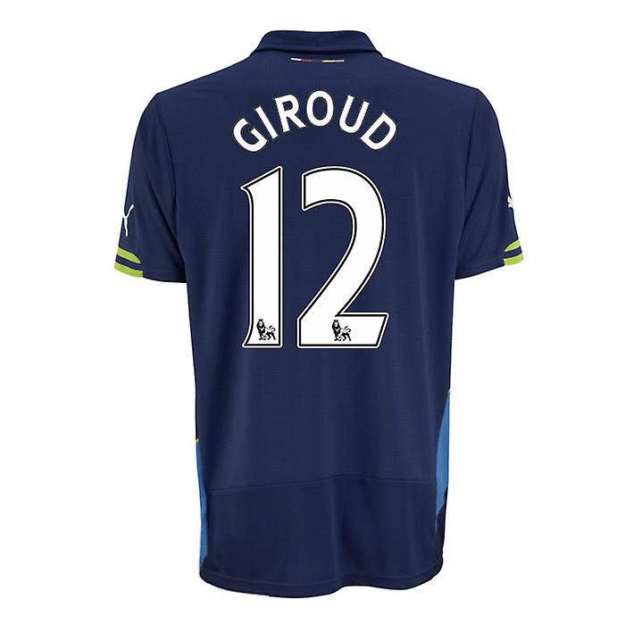 2014-15 Arsenal Third Cup Shirt (Giroud 12)