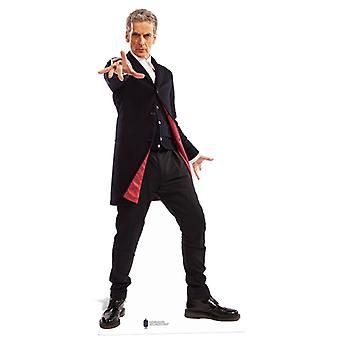 The 12th Doctor Who Peter Capaldi Lifesize Cardboard Cutout / Standee / Standup