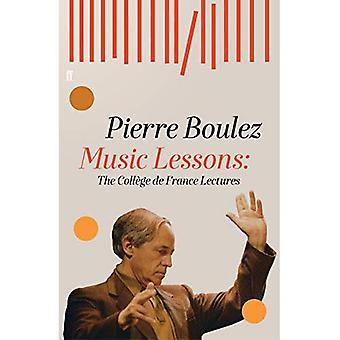Aulas de música: As palestras do Collège de France
