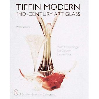 TIFFIN nowoczesne szkło artystyczne MIDCENTURY (Schiffer książki dla kolekcjonerów)