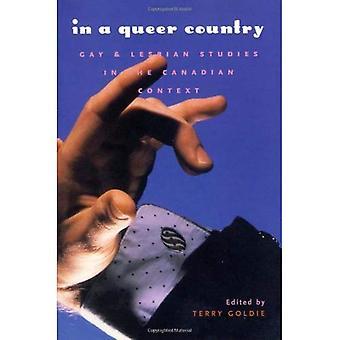 I en Queer land: Gay and Lesbian Studies i kanadensiska samband