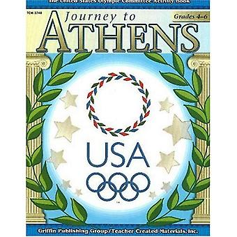 Journey to Athens: The United States Olympic Committee Activity Book (United States Olympic Committee Curriculum Series)