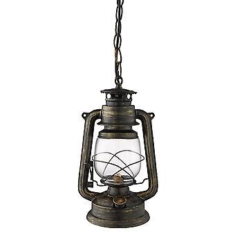 Uragano, oro, nero piccolo ciondolo - Searchlight 3841-1BG
