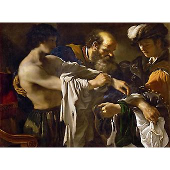 The Return of the Prodigal Son,GUERCINO,50x37cm
