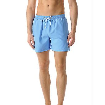 Mey Men 45535-606 Men's Badeshorts Uni Ocean Blue Short Swim Trunks