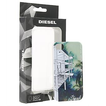 DIESEL bag stylish mobile back shell for iPhone 4/iPhone 4 S Green