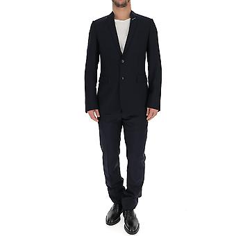 Dior Blue Cotton Suit