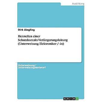 Bestrahlungstherapie Einer SchutzkontaktVerlngerungsleitung Unterweisung sich in von Jngling & Dirk