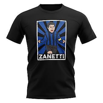 Javier Zanetti Inter Milan Legend Series T-Shirt (Black)