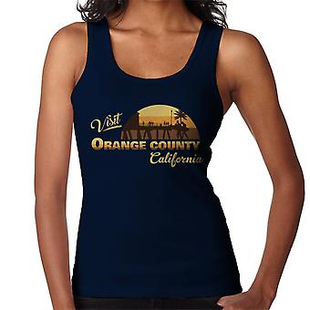 Visit Orange County Retro California Women's Vest