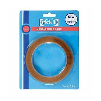 Stick It! 25m Double Sided Tape (9mm) (STI 462102)
