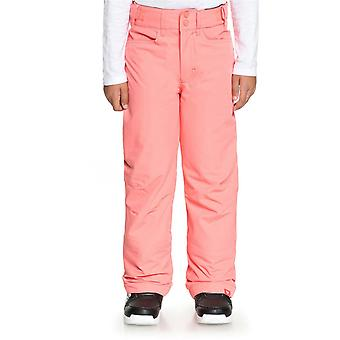 Roxy Shell Pink Backyard Girls Snowboarding Pants