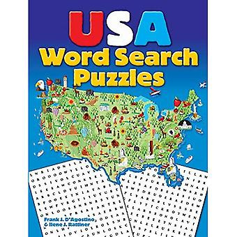 USA Word Search Rätsel