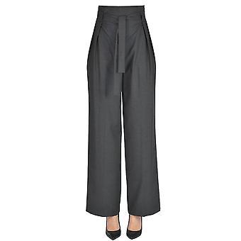 Gotha Grey Polyester Pants