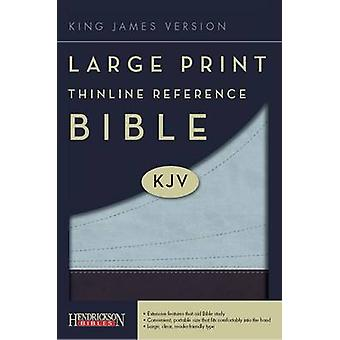 KJV Thinline Reference Bible (Large Print edition) by Hendrickson Pub