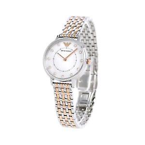 Emporio Arhommei Ar11094 Kappa acier quartz montre femme