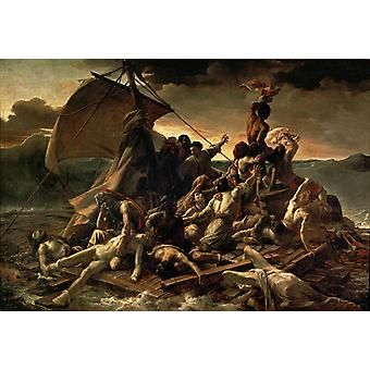 Raft of the Medusa,Theodore Gericault,60x40cm