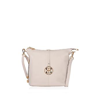 Cartmel Leather Cross Body Bag in Off-White