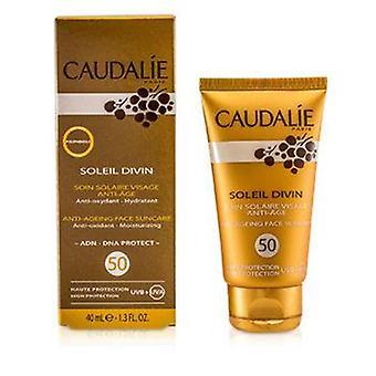 Caudalie Soleil Divin Anti-ageing Face Suncare Spf 50 High Protection - 40ml/1.3oz
