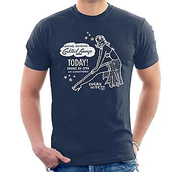 Route 66 Dinner Dancing Cocktail Lounge Men's T-Shirt