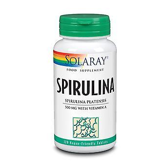 Solaray Spirulina 500mg Tablets 120 (1482)