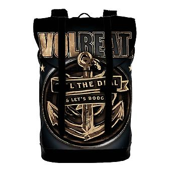 Volbeat ryggsäck Heritage Bag Seal The Deal band logo nya officiella svart