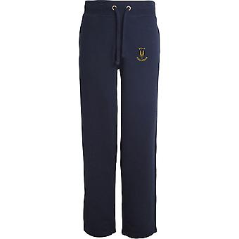 SAS Special Air Service Boat Sqn - Licensed British Army Embroidered Open Hem Sweatpants / Jogging Bottoms
