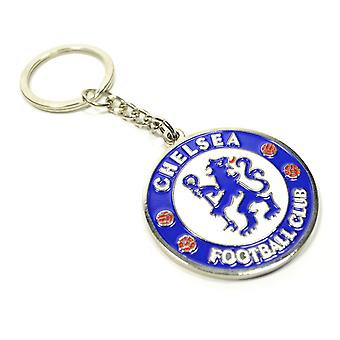 Chelsea FC Crest Keychain Nyckelring