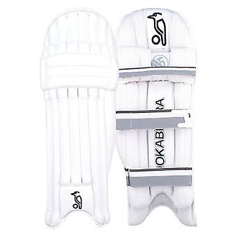 Kookaburra 2019 Ghost Pro Cricket Batting Pads Leg Guards White