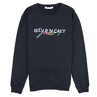 Givenchy Signature Sweatshirt Schwarz 001