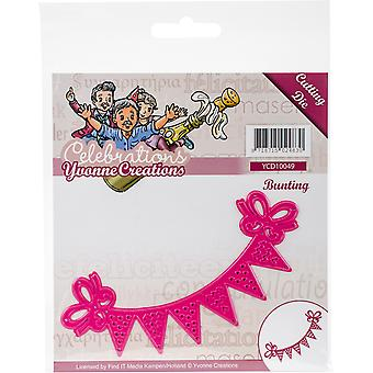 Find It Trading Yvonne Creations Die-Bunting, Célébrations