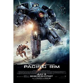 Pacific Rim Poster Double Sided Regular (2013) Original Cinema Poster
