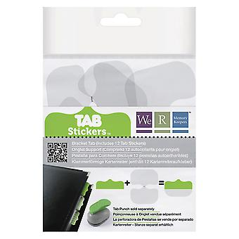 Tab Stickers beugel Tabs 42378