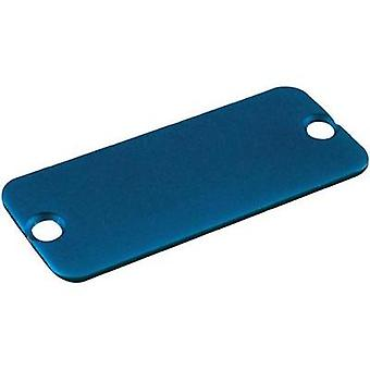End cover Aluminium Blue Hammond Electronics 1455KALBU-10 1 pc(s)