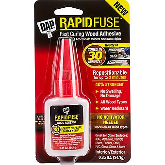 DAP Rapid Fuse Wood Glue-.85oz Clear RF001565