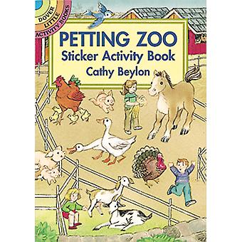 Dover Publications-Petting Zoo Sticker Activity Book DOV-40098