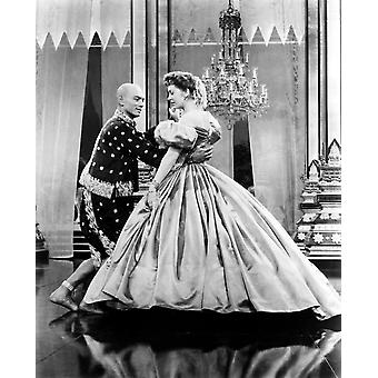 The King And I From Left Yul Brynner Deborah Kerr 1956 Tm And Copyright 20Th Century Fox Film Corp All Rights Reserved Photo Print