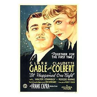 Es geschah eine Nacht Movie Poster (11 x 17)