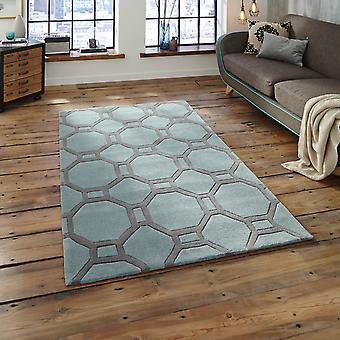 Hong Kong Hk 4338 Rugs In Blue Grey