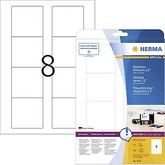 Herma Labels 70X67 4355, 7Mm Disc