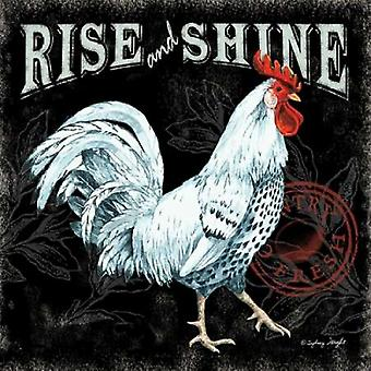 Rise and Shine II Poster Print by Sydney Wright