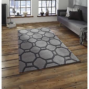 Nobel Haus 4338 graue Rechteck Teppiche Plain/fast nur Teppiche