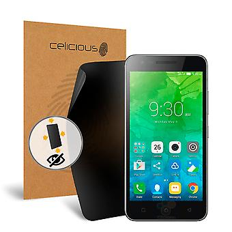 Celicious Privacy Plus Lenovo C2 4-Way Visual Black Out Screen Protector