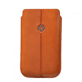 SAMSONITE DEZIR Mobile bag leather Orange to tex S3/S4