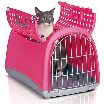 Linus Cabrio Carrier Pink 50x32x35cm (20x12.5x14