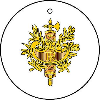 French Coat Of Arms Car Air Freshener