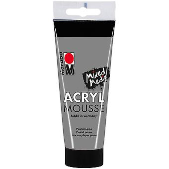 Marabu Acryl Mousse 100ml-Light Grey 12059050-278
