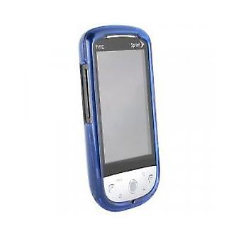HTC Hero Snap-On Case (Translucent Dark Blue)