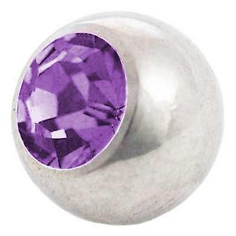 Piercing Replacement Ball, Tanzanite | 1,6 x 4, 5 and 6 mm, Body Jewellery
