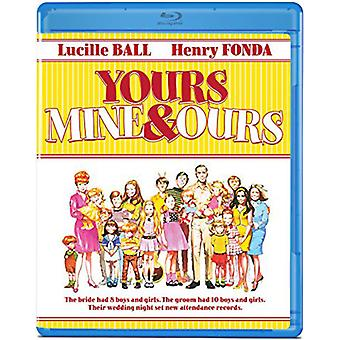 Yours Mine and Ours [Blu-ray] USA import
